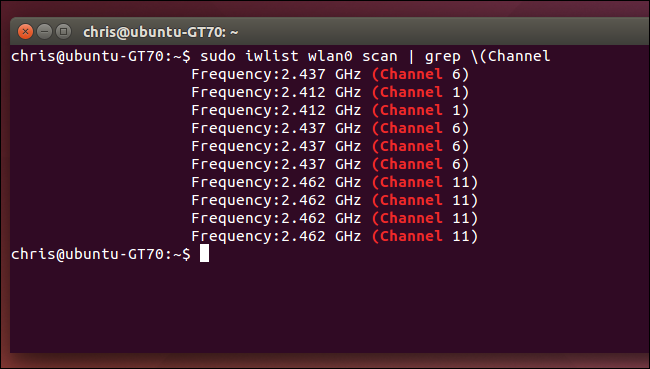 find-most-congested-nearby-wifi-channel-on-linux