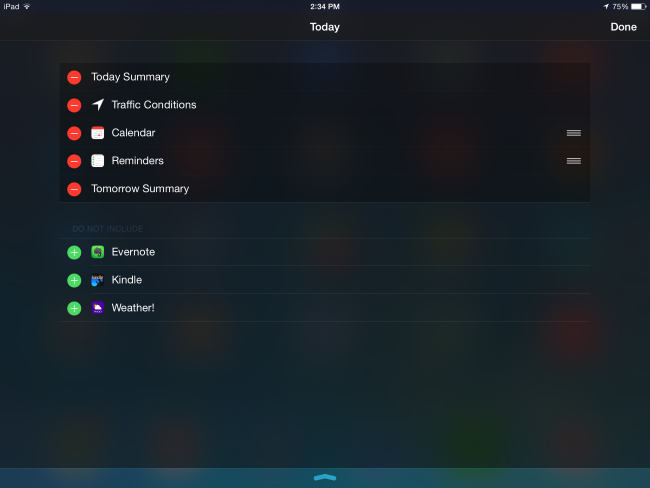 view-installed-widgets-on-ios-8