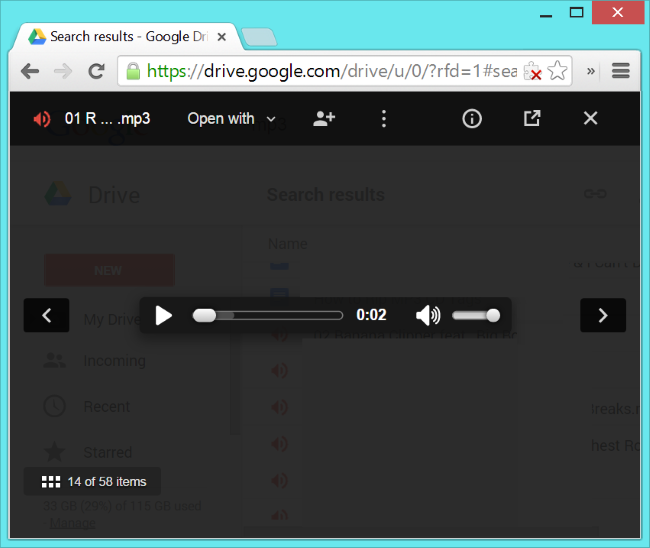 how to upload a large video to google drive