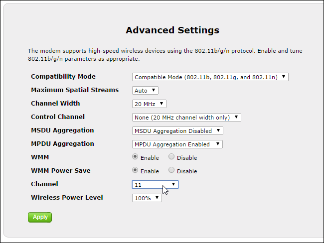 how to change wifi channel on dlink router