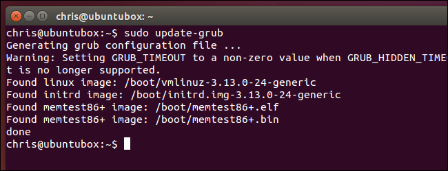 generate-grub.cfg-on-ubuntu