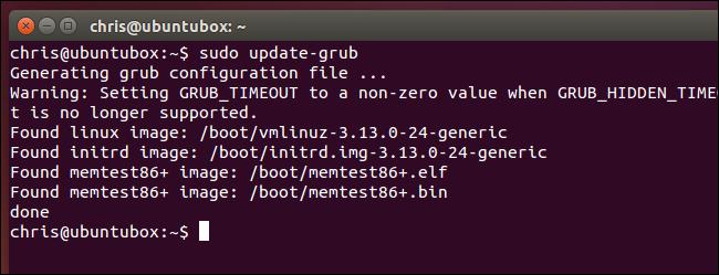 generate-grub.cfg-on-ubuntu
