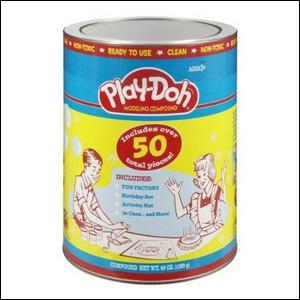1950s era Play-Doh Can