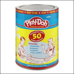 1950s era Play-Doh Can