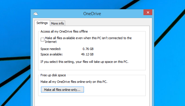 How to Make All Your OneDrive Files Available Offline (or