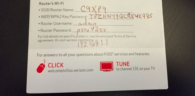 How to Change the Wi-Fi Network Password on Your Verizon ...