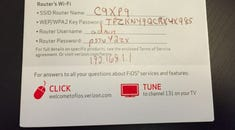 How to Change the Wi-Fi Network Password on Your Verizon FIOS Router