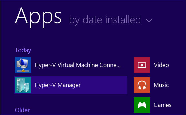 launch-hyper-v-manager