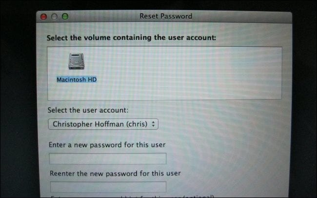 mac reset password fix user account permissions