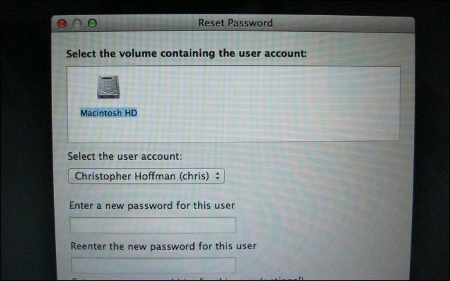 mac reset password fix user account permissions