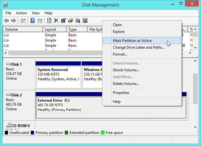 make-windows-to-go-partition-active