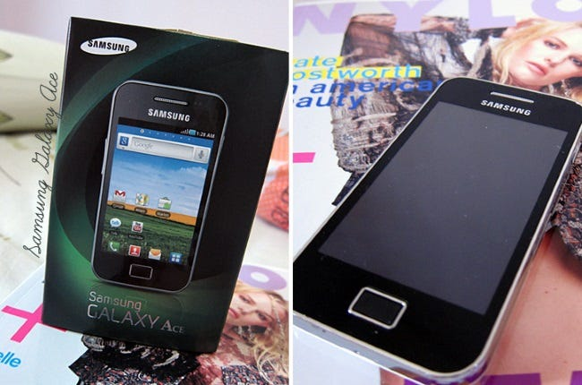 samsung galaxy ace from 2011