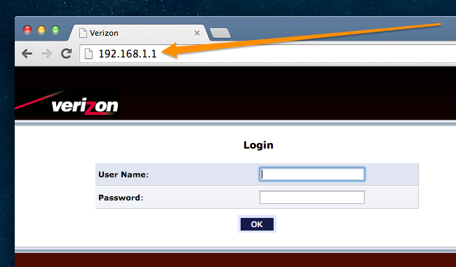 how to change the admin password on your verizon fios router