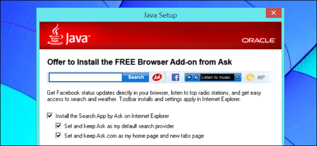 how to delete ask toolbar from windows 8