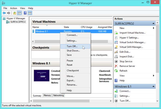 turn-off-virtual-machine-in-hyper-v