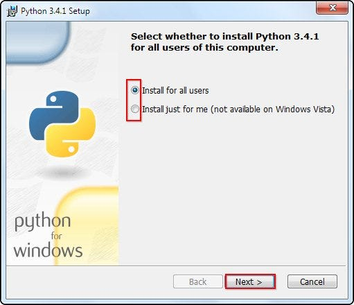 python software  for windows 8.1