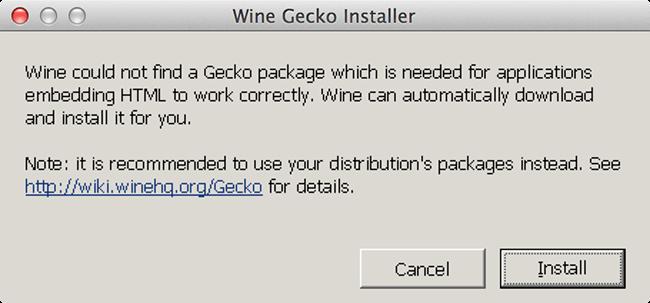 Wineskin - Gecko