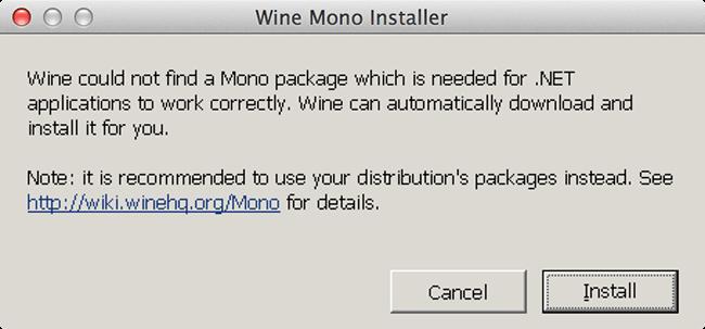 Wineskin - Mono