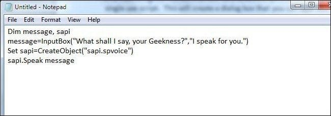 Stupid Geek Tricks: How to Make Your Computer Talk to You