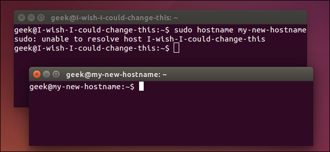 change-hostname-immediately-on-ubuntu