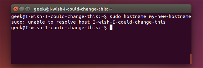 change-hostname-without-rebooting-on-ubuntu