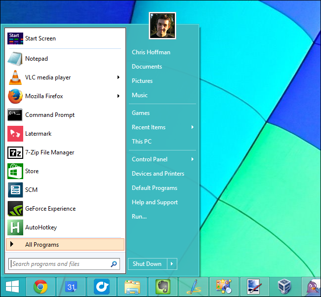 classicshell-start-menu-on-windows-8.1