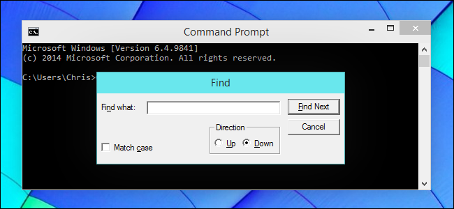 ctrl-f-to-search-in-command-prompt-on-windows-10