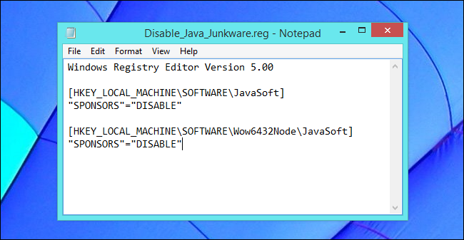 disable-java-ask-toolbar-registry-hack