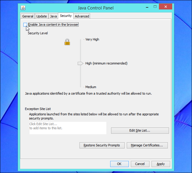 disable-java-browser-plug-in-in-java-control-panel