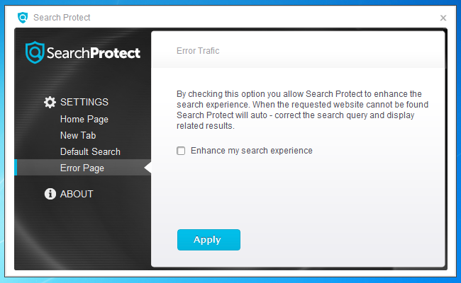 how to uninstall search protect