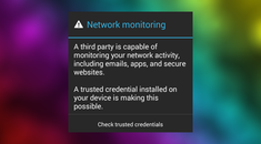 "What's the Deal with Android's Persistent ""Network May Be Monitored"" Warning?"