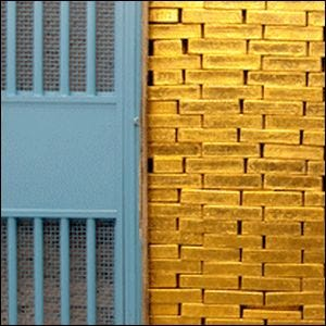 The Largest Gold Vault In The World Is