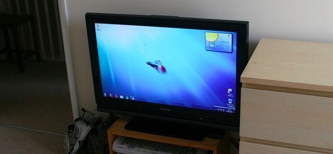 Why You Should Connect a PC to Your TV (Don't Worry