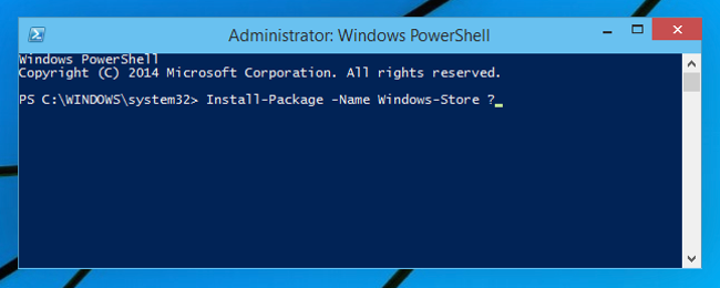More Details About OneGet, Windows 10's Package-Management-Manager