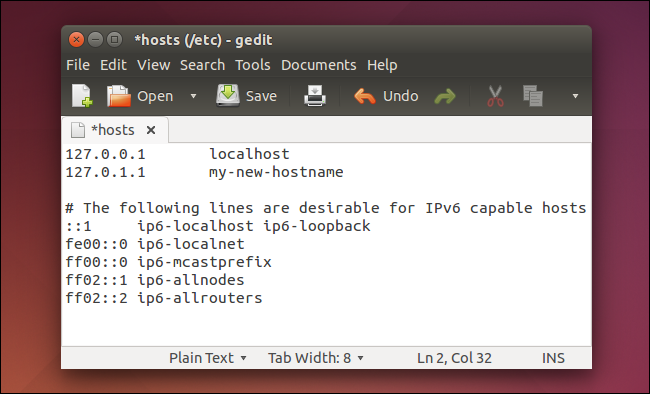 new-hostname-added-to-etc-hosts-file-on-ubuntu-linux