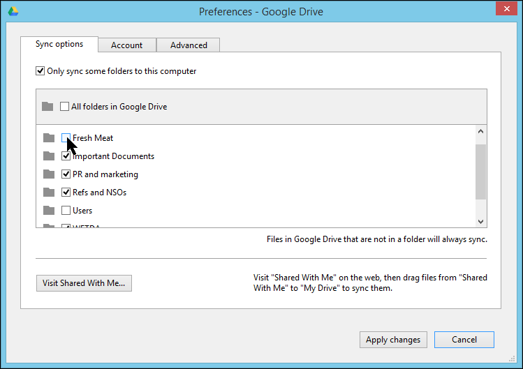 google drive  windows 10
