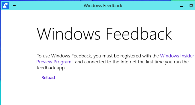 windows-feedback-must-be-registered-with-windows-insider-preview-program