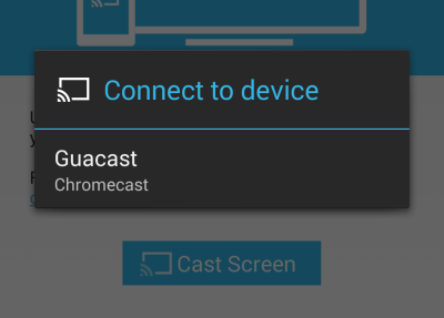 how to play videos from phone to chromecast