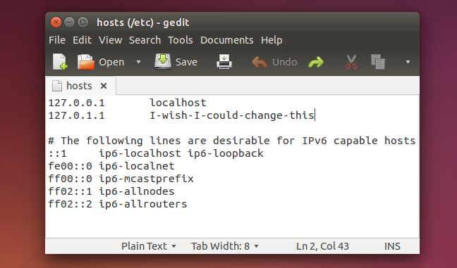 add-new-hostname-to-hosts-file-on-ubuntu