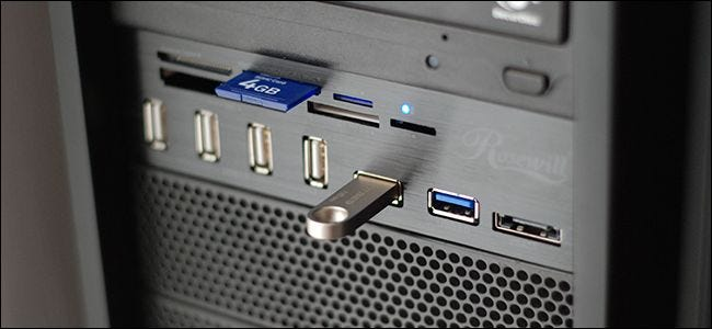 how to connect screen on usb port