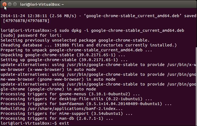 Beginner: How to Install Google Chrome in Ubuntu 14 04