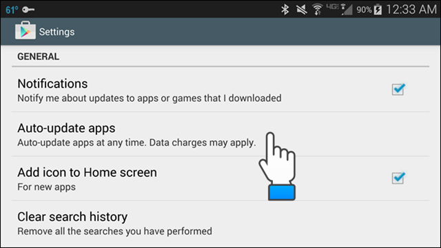 Google Play Store Version 5.0