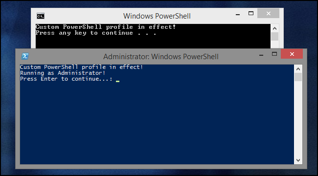 powershell run exe file with arguments
