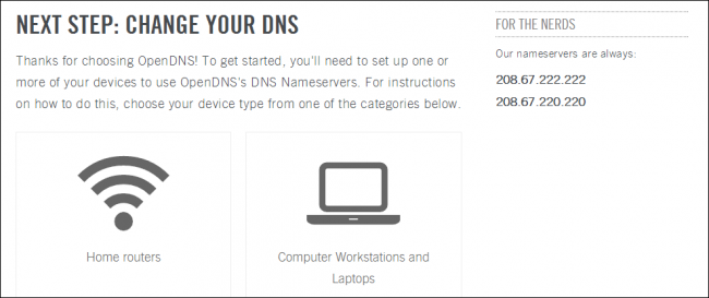 How to Use OpenDNS on Your Router, PC, Tablet, or Smartphone