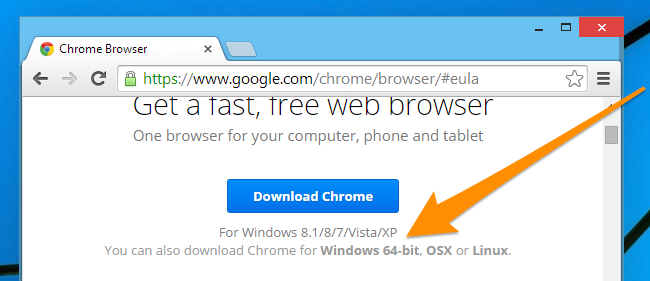 How to Tell If You Have the 32-bit or 64-Bit Version of Google Chrome
