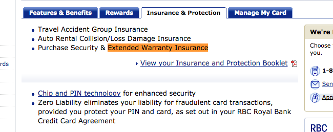 Your Credit Card Company Gives You Free Extended Warranties