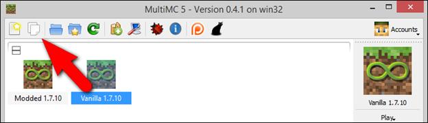 How To Manage Minecraft Instances And Mods With MultiMC - Minecraft server erstellen mit mods 1 7 10