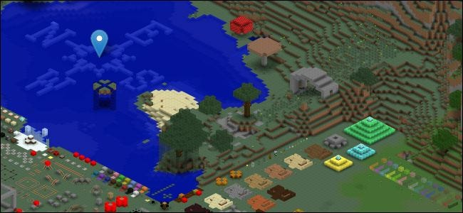 How to Render Your Minecraft Worlds Google Earth style with Mapcrafter
