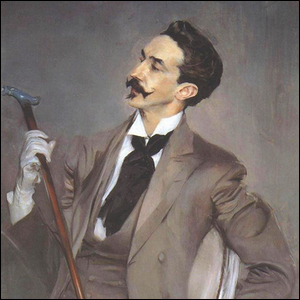Portrait of Robert de Montesquiou from the late 19th century.