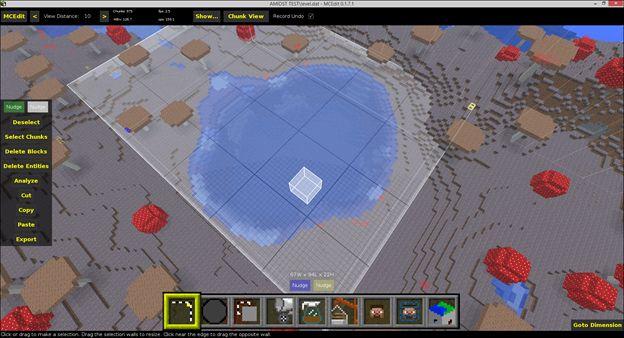 minecraft world editor linux